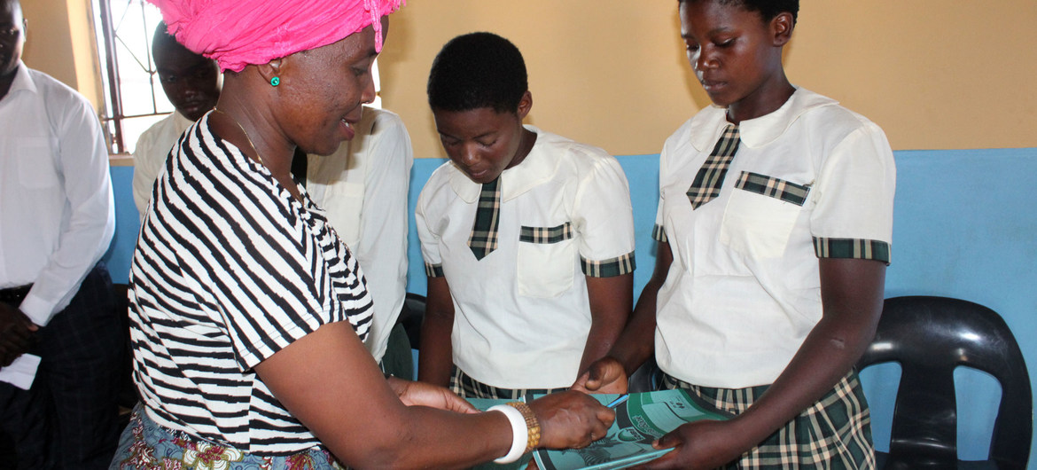 One step at a time: UN women's health agency helping shift dangerous social norms
