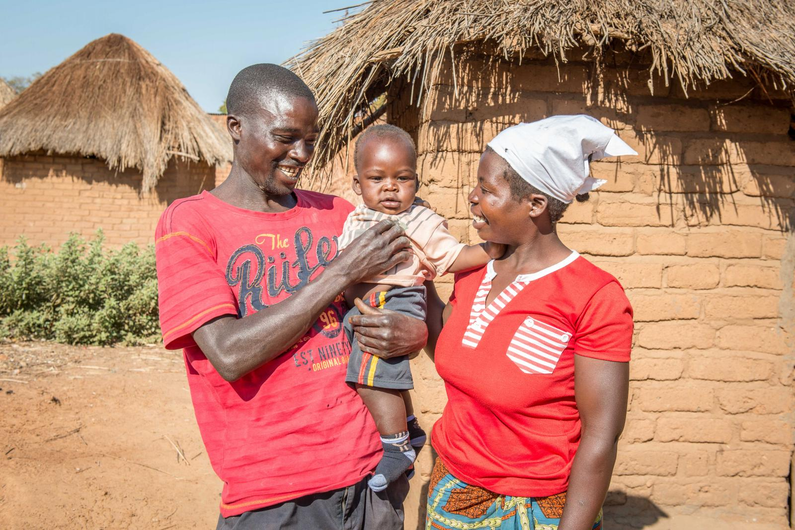 Beyond Baby Talk in Zambia; the story of 10-month-old Moses