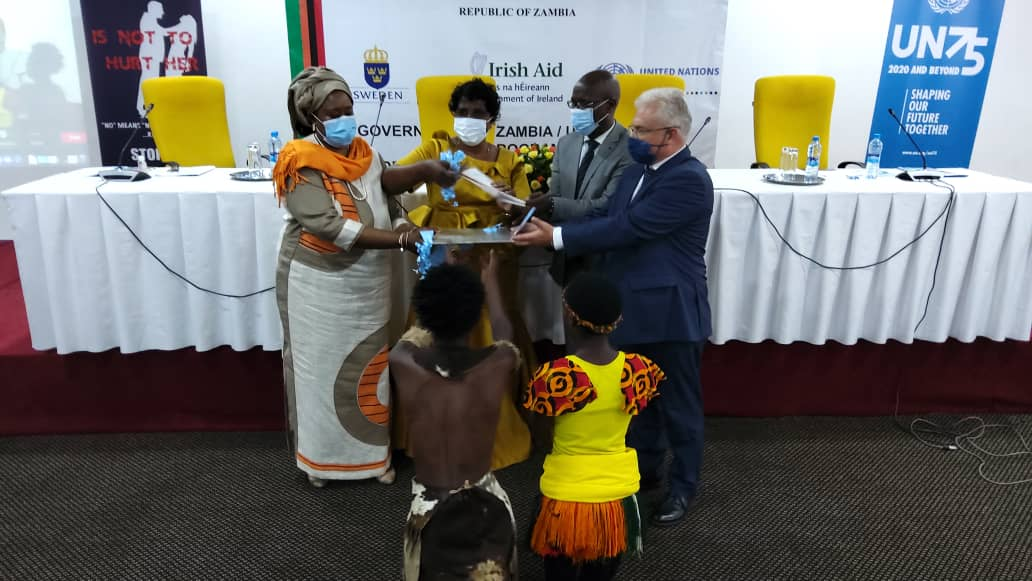 Launch of  GRZ-UN Joint programme on GBV phase II