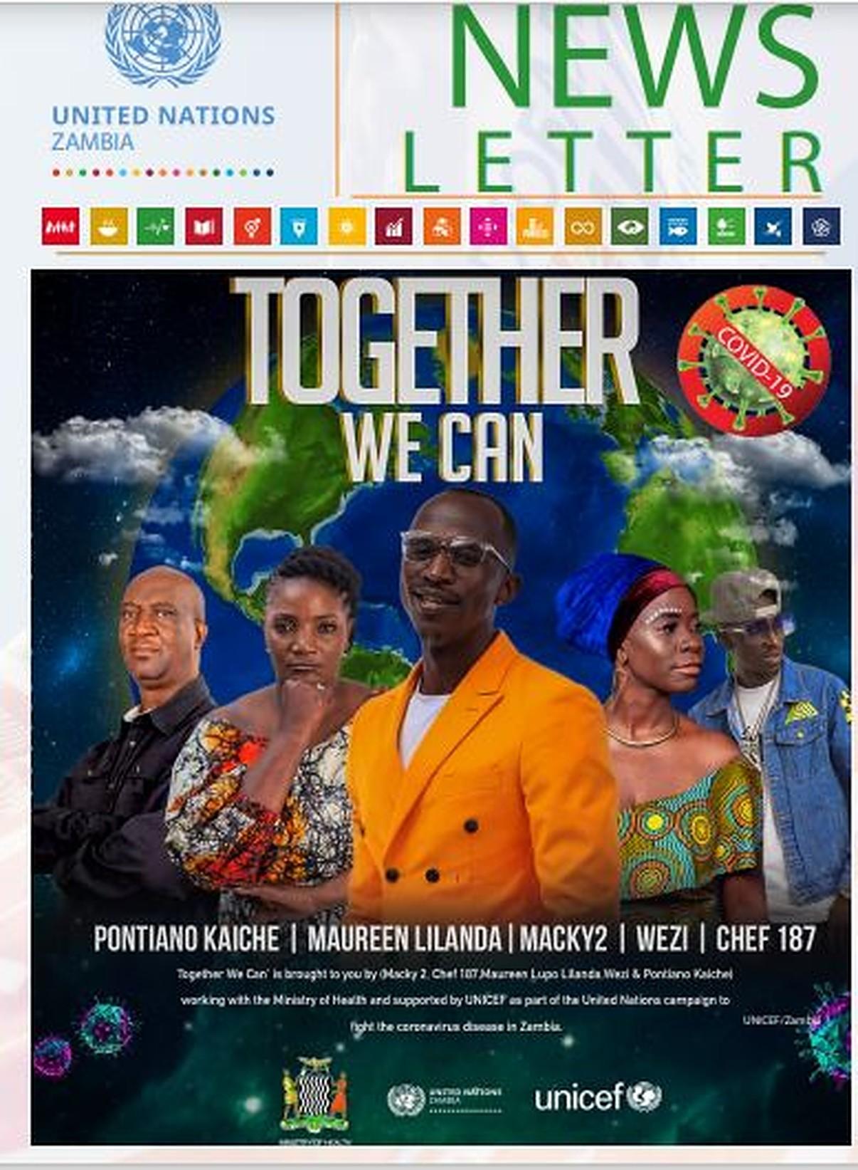 UN Zambia Newsletter April - June 2020