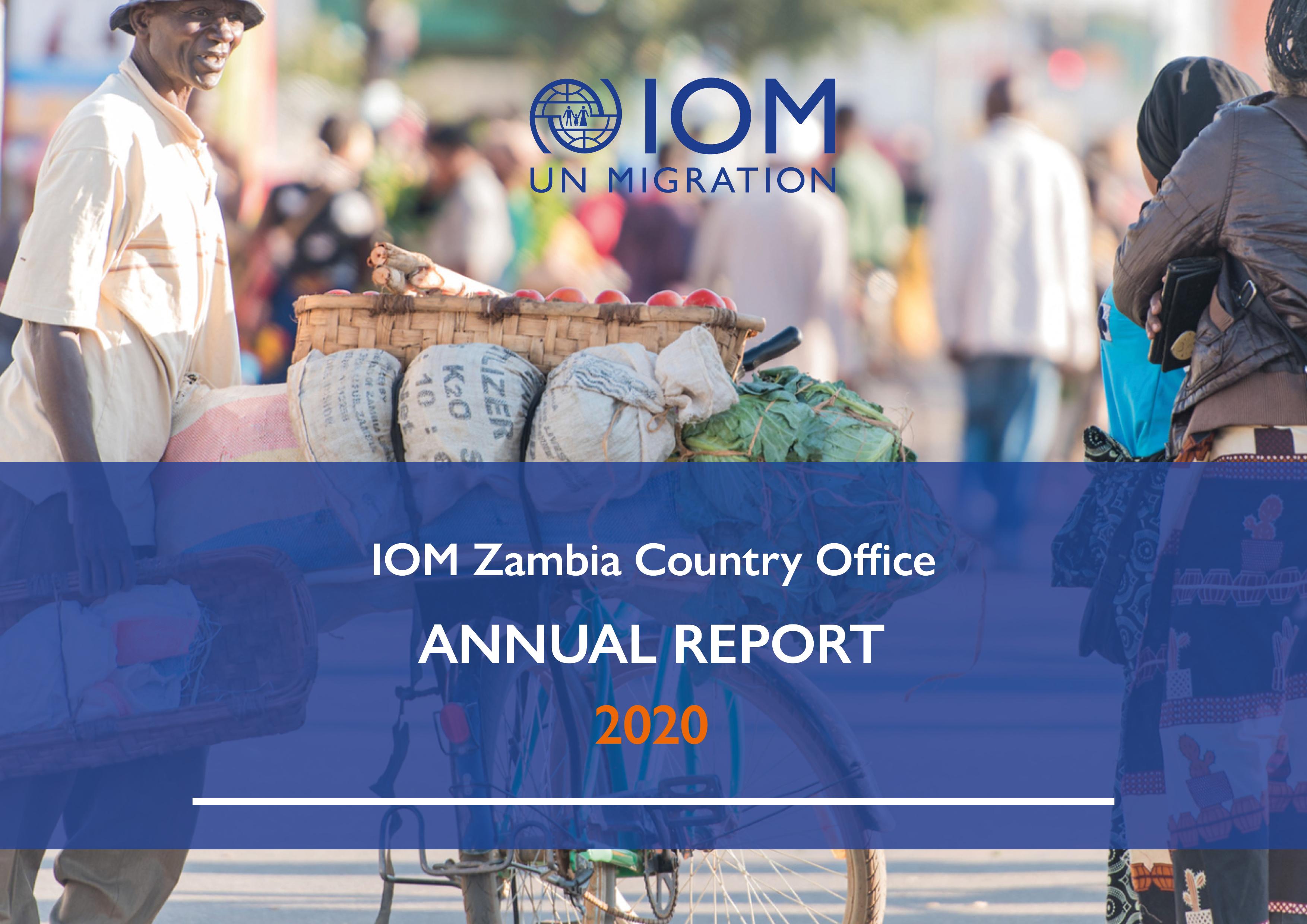 IOM Zambia 2020 Annual Report